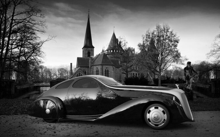 1935 Rolls Royce Jonckheere Aerodynamic Coupe II
