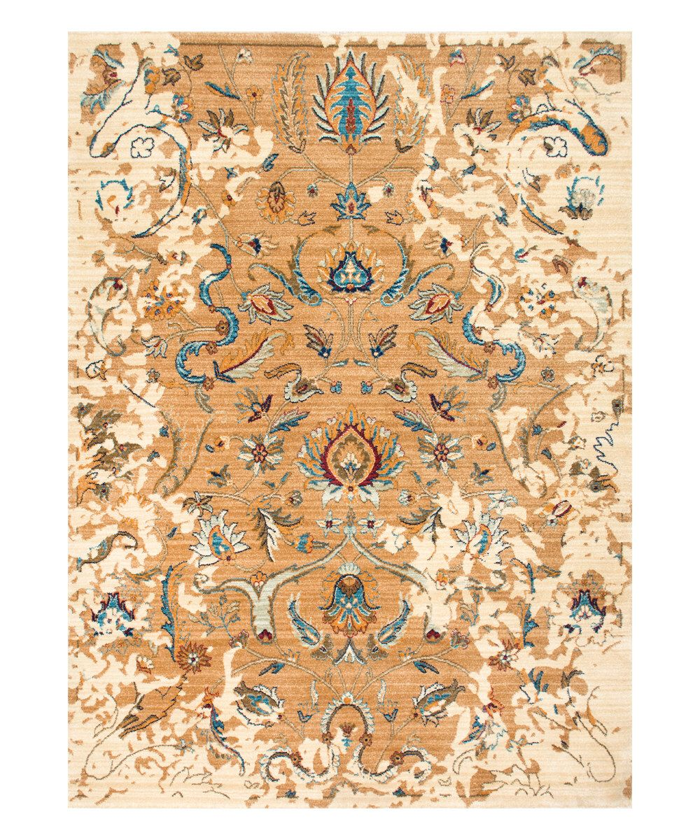 Look at this Ivory Sebrina Blossom Rug on #zulily today!