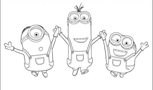Resultado de imagen para minions para colorear | Minios | Pinterest ...