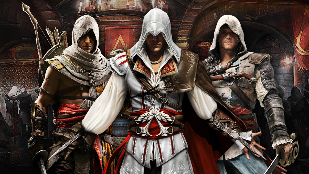 Every Assassin S Creed Game Reviewed Ac Odyssey Ac Origins Ac2 More Gamespot Assassins Creed Game Creed Game All Assassin S Creed Games