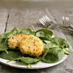 """Oven """"Fried"""" Goat Cheese by HungryCouple"""