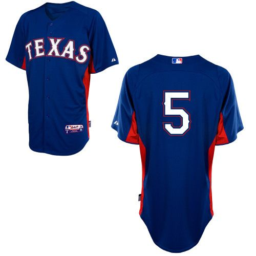 Texas Rangers Authentic Personalized Cool Base BP Jersey - MLB.com Shop