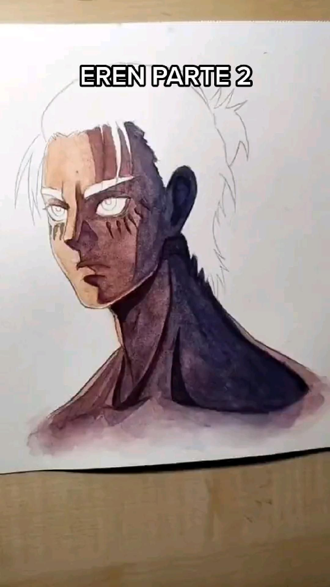 Eren Jaeger water color!