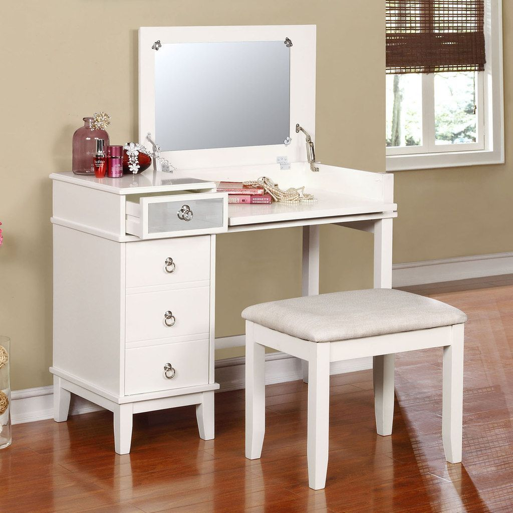 Fantastic Linon Eva Vanity Stool 2 Piece Set In 2019 Products Caraccident5 Cool Chair Designs And Ideas Caraccident5Info