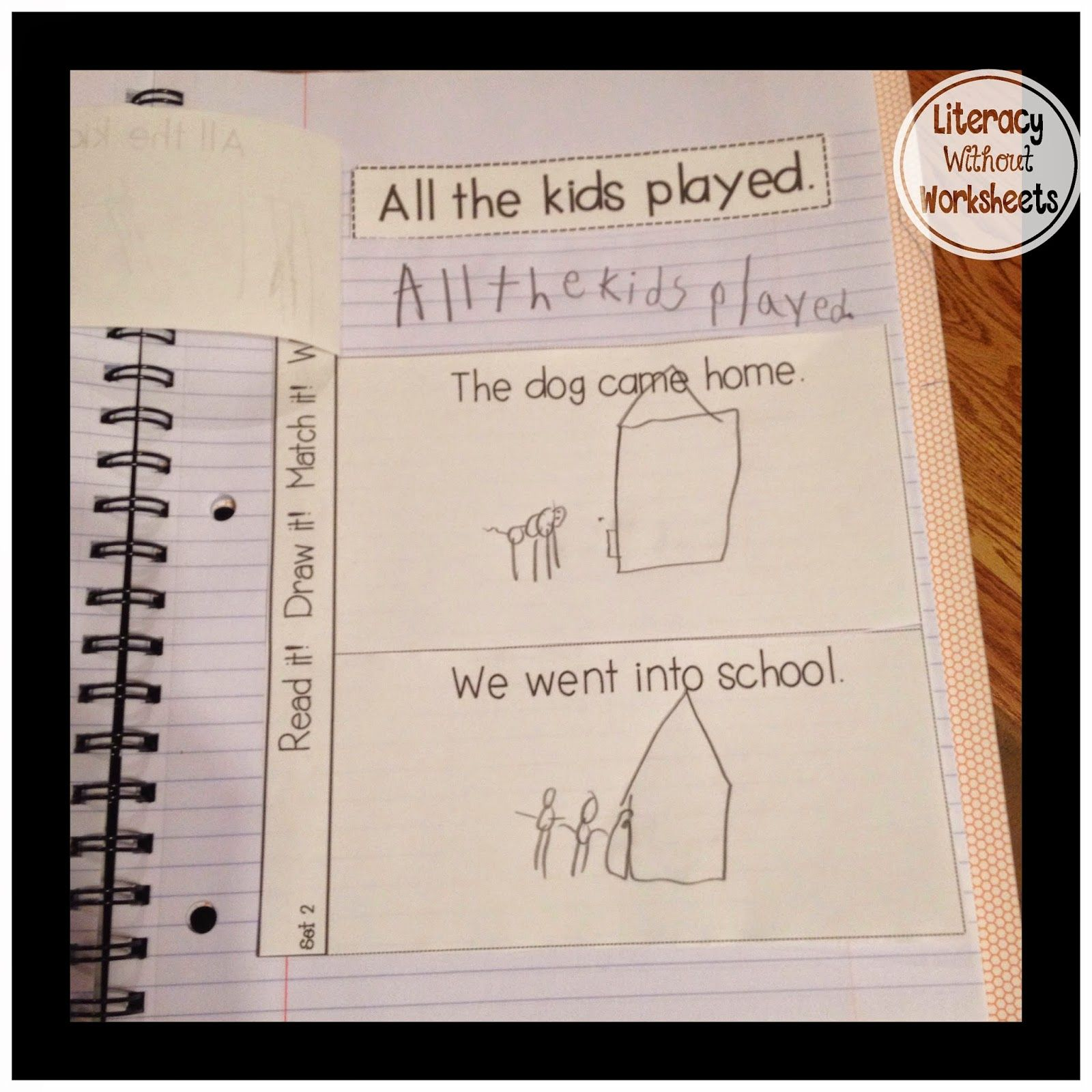 Tried It Tuesday Interactive Notebooks