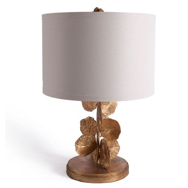 Bliss Studio Pyrite Sun Table Lamp ($720) ❤ Liked On Polyvore Featuring Home ,