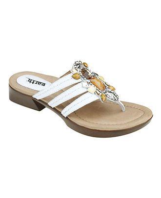 Earth Shoes, Saffron Flat Sandals - Comfort - Shoes - Macy's