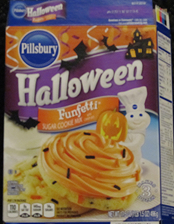pillsbury halloween funfetti sugar cookie mix
