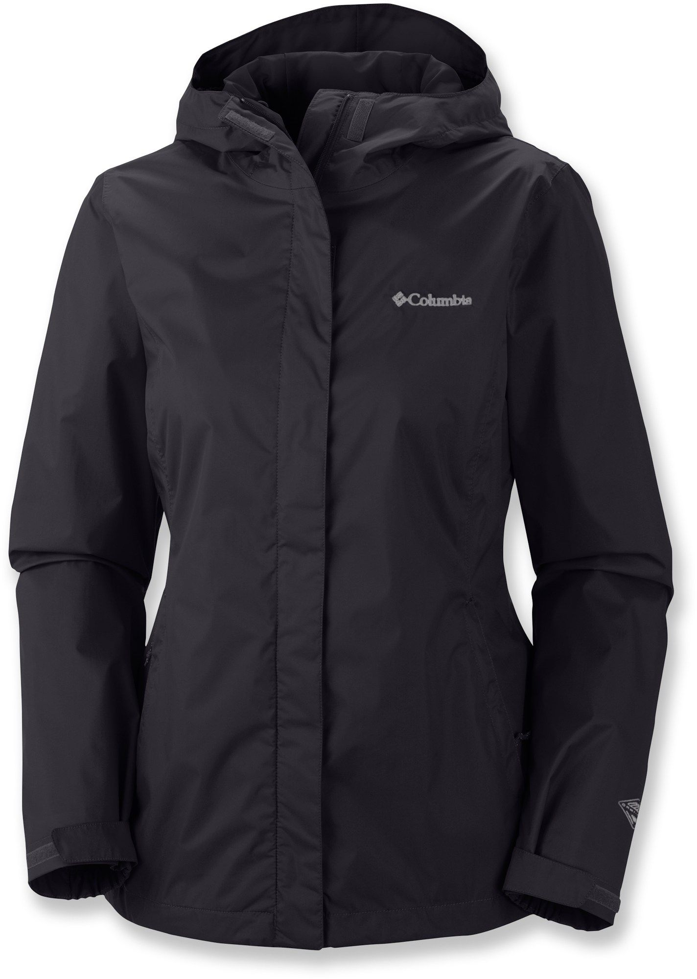Columbia Women's Arcadia II Rain Jacket White/White XL ...