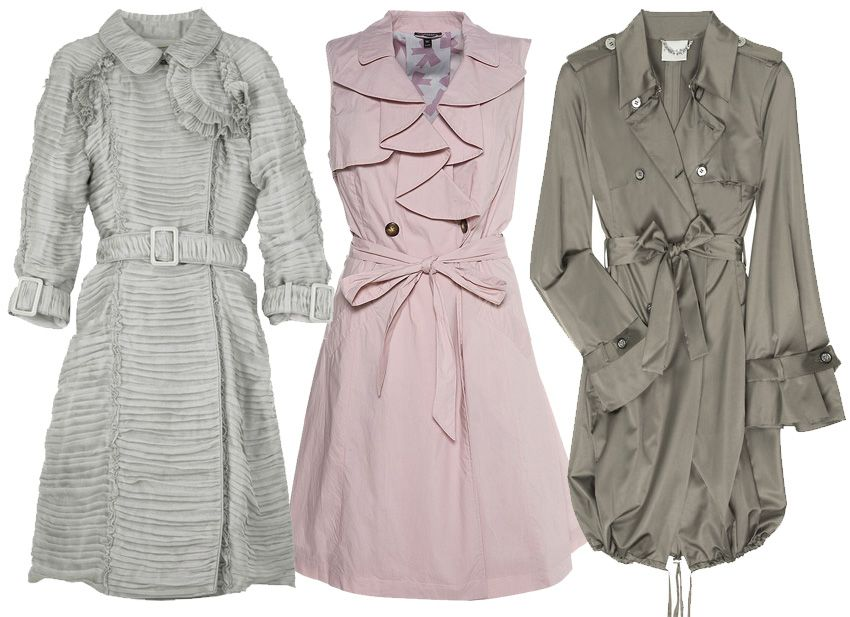 Burberry, Celine, and Topshop