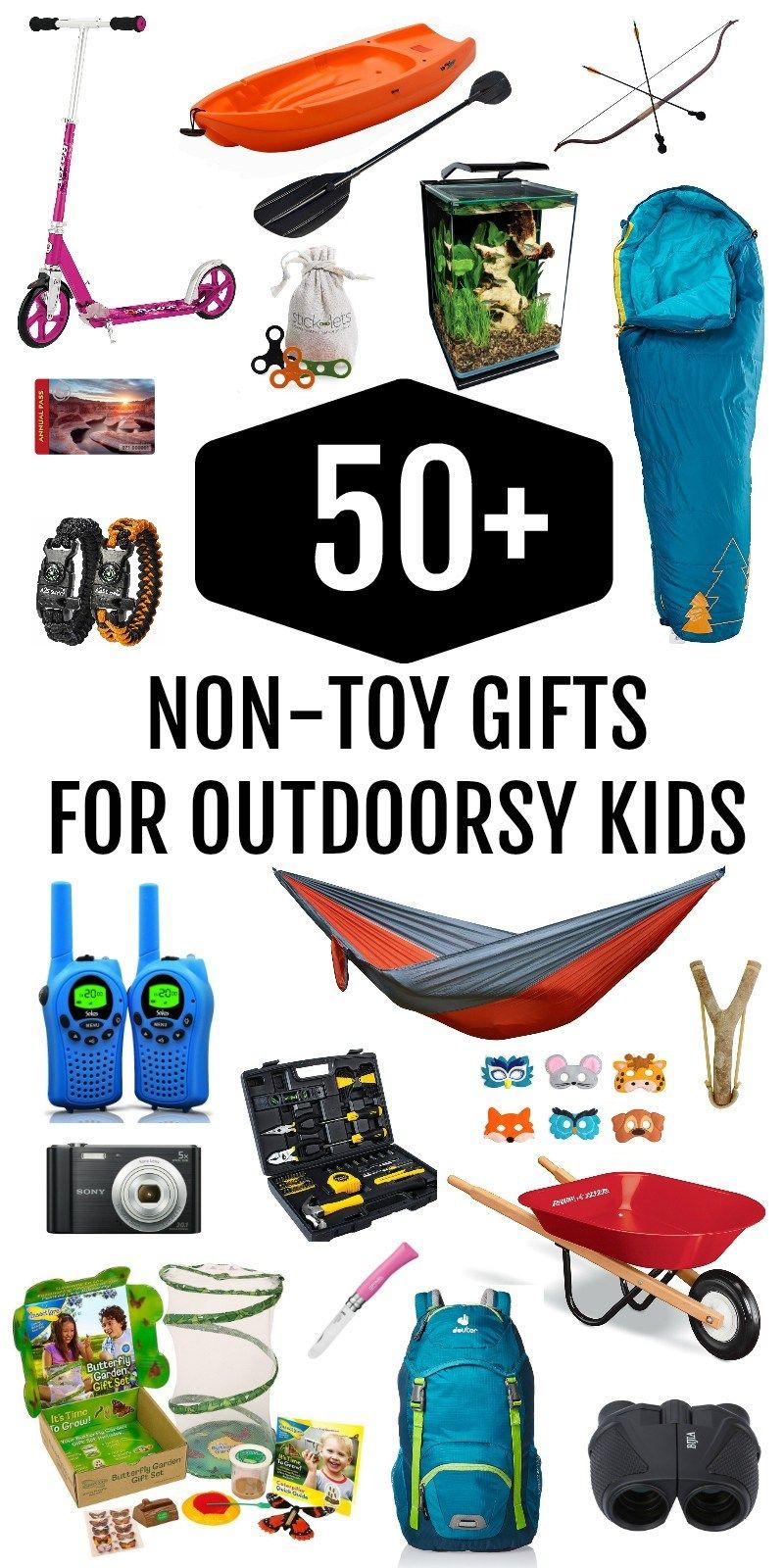 The Ultimate NonToy Gift Guide for Outdoorsy Kids