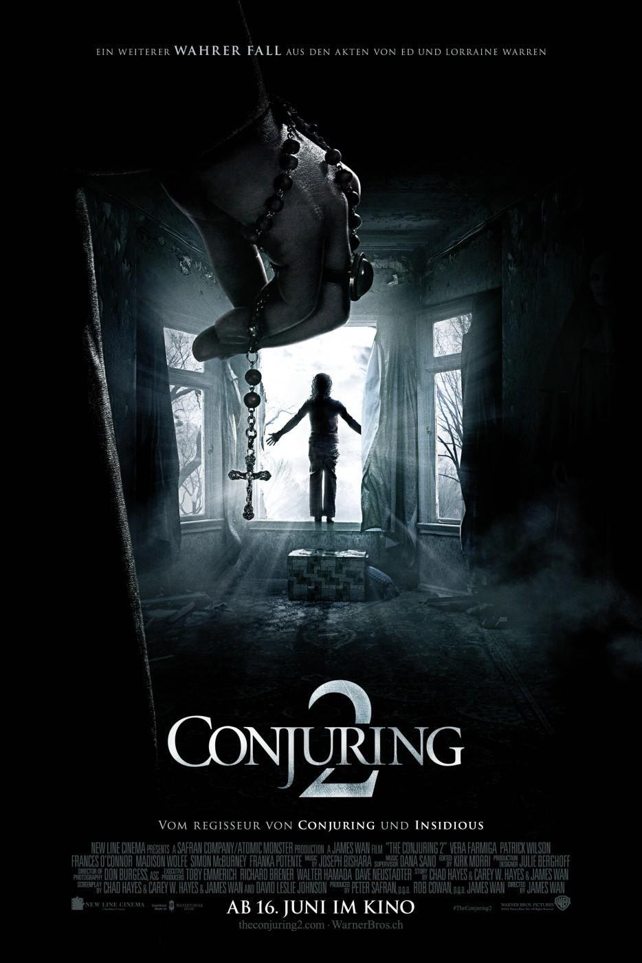 The Conjuring 2 2016 Bilder Horror Filme Zauberer Filme Sehen