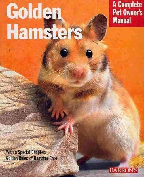 Golden Hamsters By Peter Fritzsche Paperback Book English