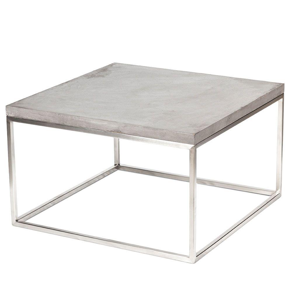 Betontisch Couchtisch Loungetisch Beistelltisch Beton Design Dekoration Concrete
