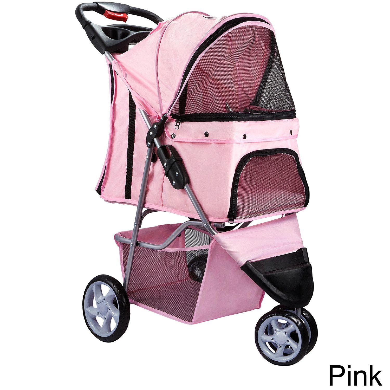 OxGord 3 wheel Pet Stroller