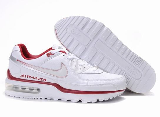 first rate 78103 82ee1 Nike JoggersNike  Nike Air Max LTD White Black Red Mens Trainers AY-012320  ...
