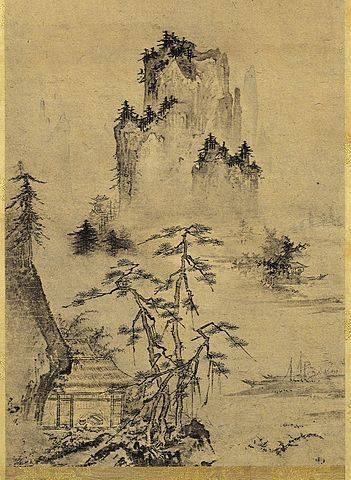 Old Japanese Landscape Paintings Google Search Japanese