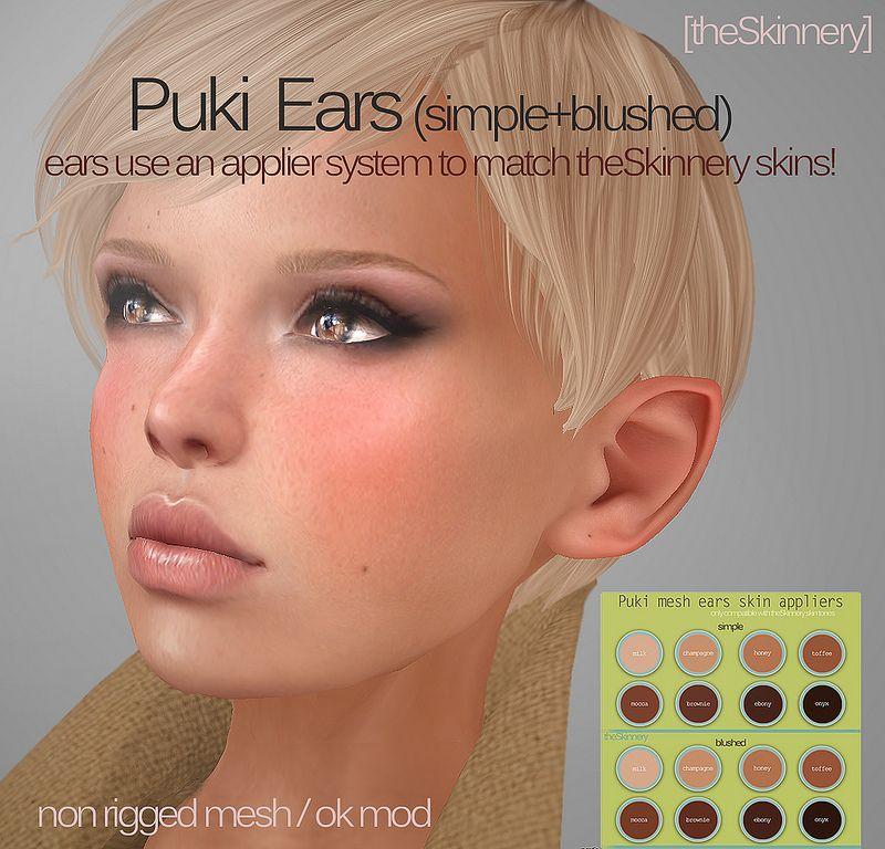 Puki Ears (mesh)   Flickr - Photo Sharing!
