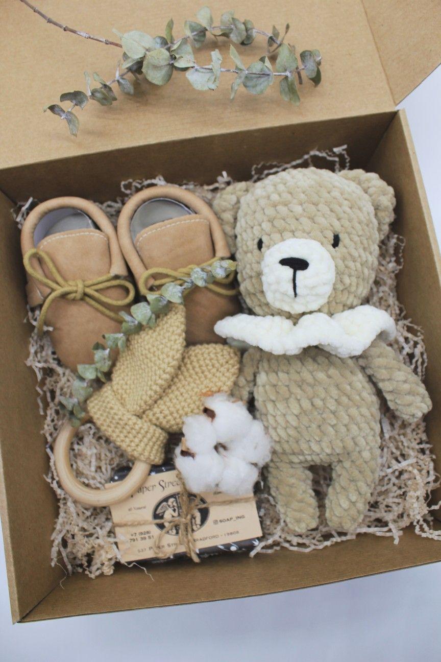 Newborn Baby  Crochet Gift Set