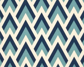 blue geometric fabric by the yard zapp felix natural premier prints upholstery home decor 1 yard - Home Decor Fabrics By The Yard