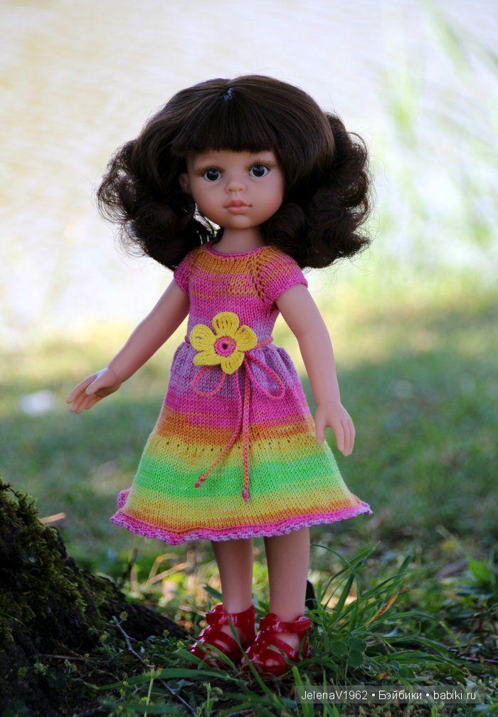 Ателье для Танюши. Игровые куклы Paola Reina / Paola Reina