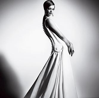 Twiggy 60s Wedding Dress