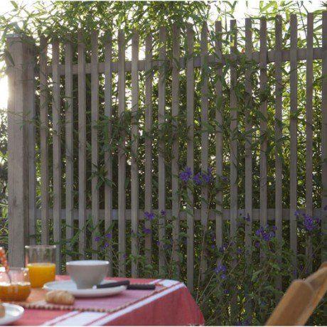 Panneau En Bois Droit Ajoure L 180 X H 180 Cm Naturel Leroy