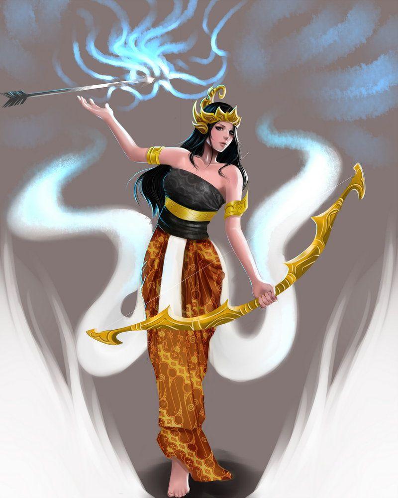 Srikandi Fanart By Edwarddesu Fan Art Indonesian Art Character Design