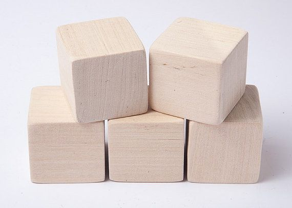 1 1 2 Inch 4 Cm Unfinished Wood Blocks For Wood Crafts
