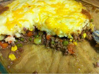 Healthy Home Revolution: Quick & Easy Shepard's Pie #shepardspie