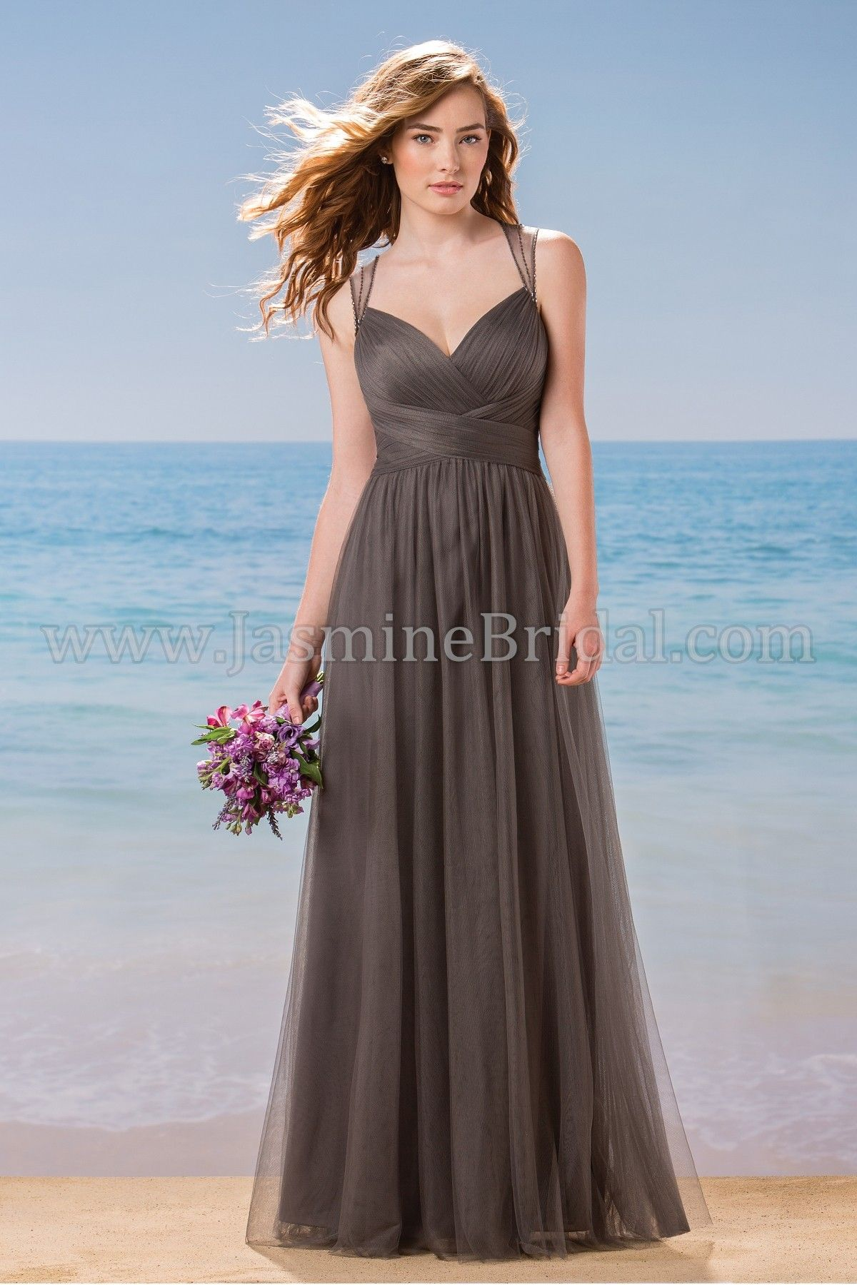 Jasmine bridal bridesmaid dress belsoie style l184002 in iron jasmine bridal bridesmaid dress belsoie style l184002 in iron ombrellifo Images