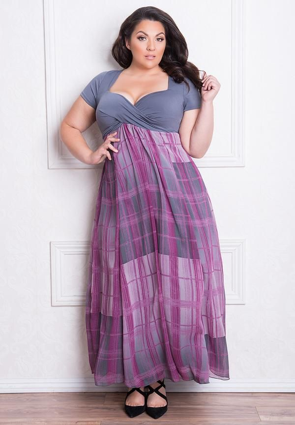 The Christina Dress in Lavender Haze by IGIGI. View this and more ...