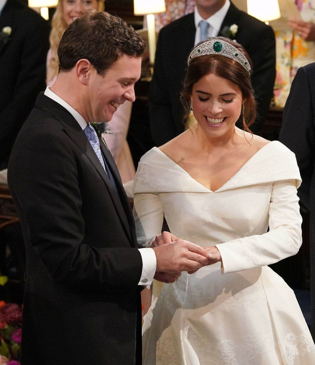 Gero Golden Boys the meaning behind princess eugenie's gorgeous royal wedding