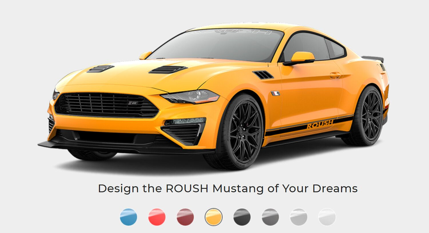 2020 Ford Mustang Roush Stage 2 Configurator Is Live In 2020 With