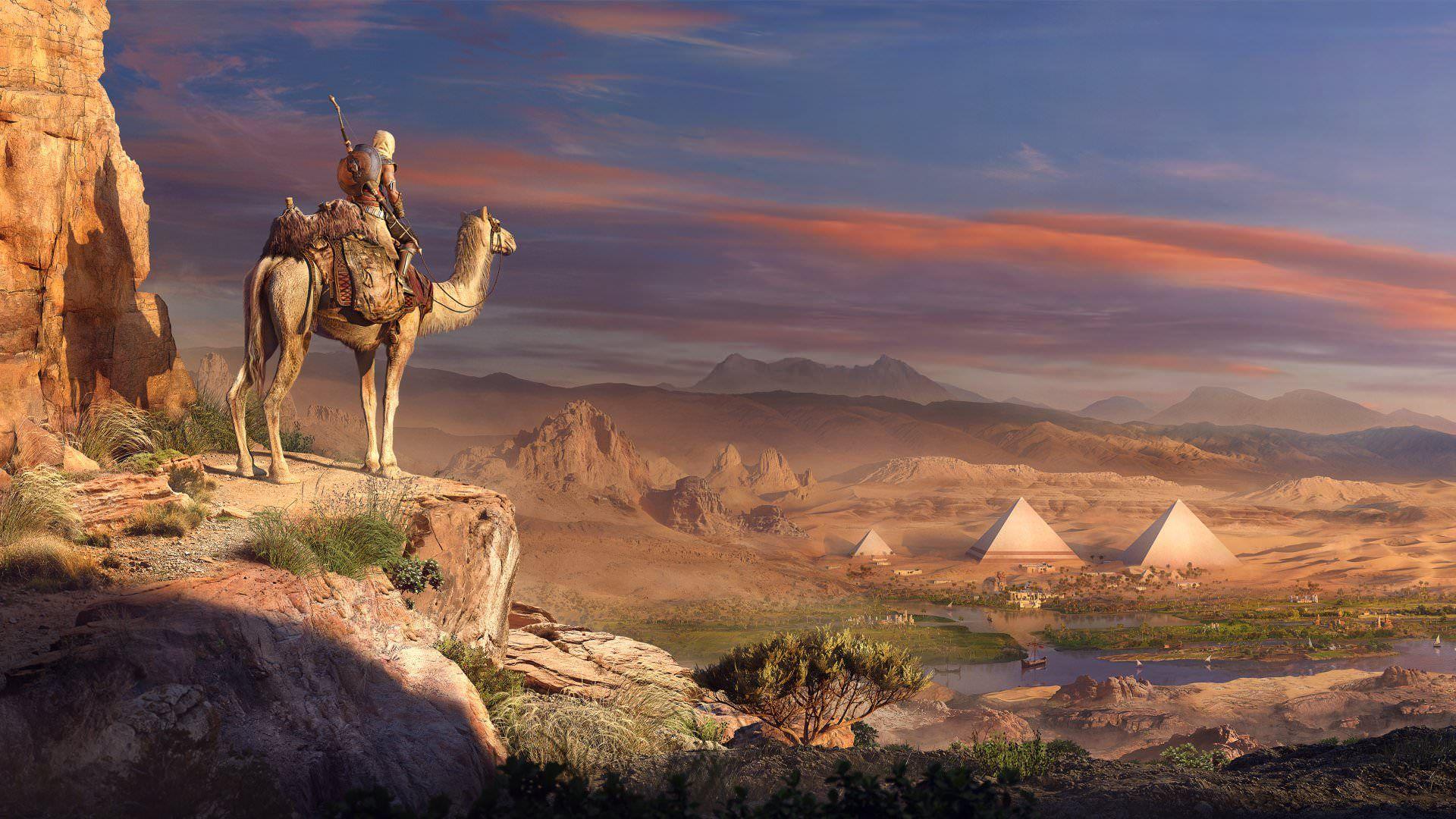 Assassin S Creed Origins Full Hd Wallpaper 1920x1080 Assassins