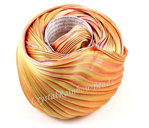 Hey, I found this really awesome Etsy listing at https://www.etsy.com/listing/222171310/shibori-silk-ribbon-hand-dyed-silk-bias