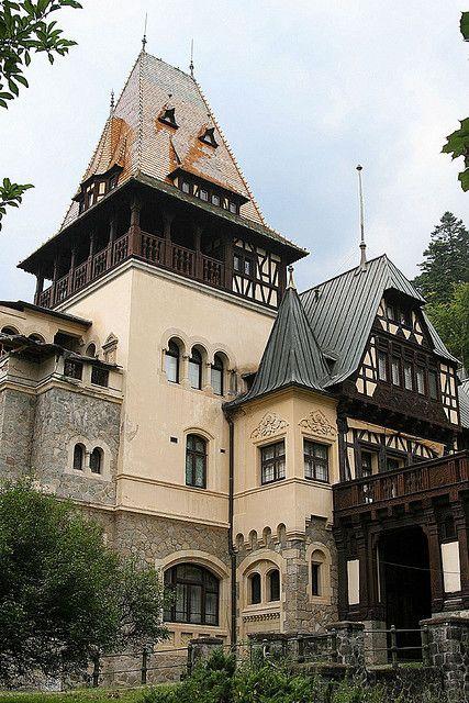 The hunting lodge at Peleş Castle - Sinaia, Romania