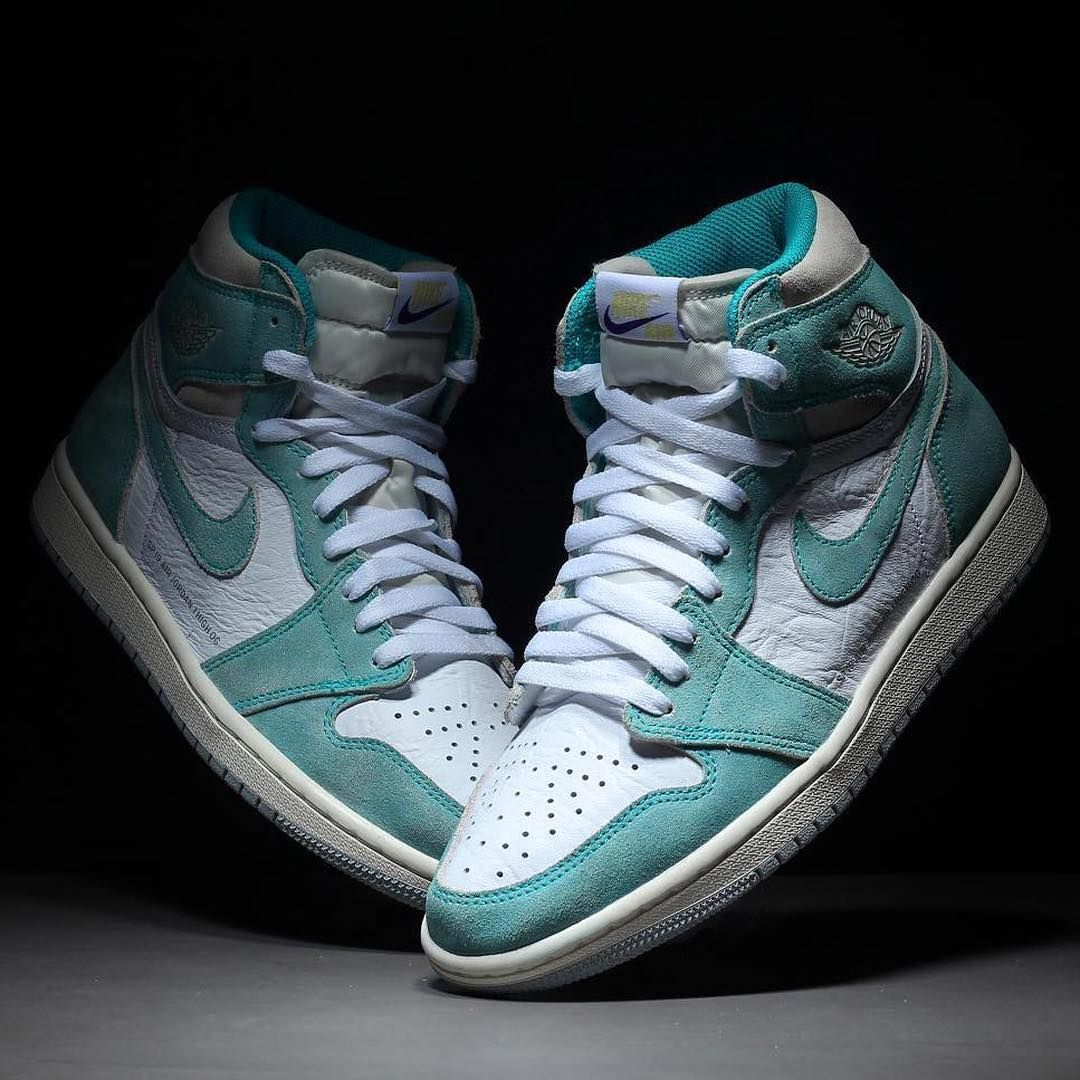 "new styles 6155e 3c999 Sneaker News on Instagram  ""More Air Jordan 1 Retro High OGs are in the  pipeline. This Turbo Green colorway is dropping on 2 15 globally."