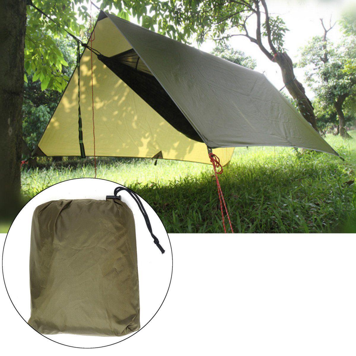 Outdoor Camping Tent Sunshade Canopy Waterproof Anti UV