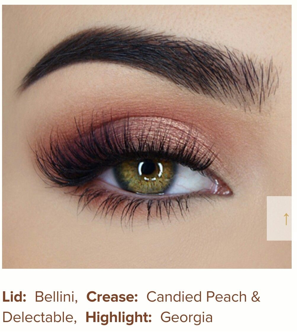 In Awe With This Peachy Eye Look From She Uses Sweet Peach Eyeshadow Palette