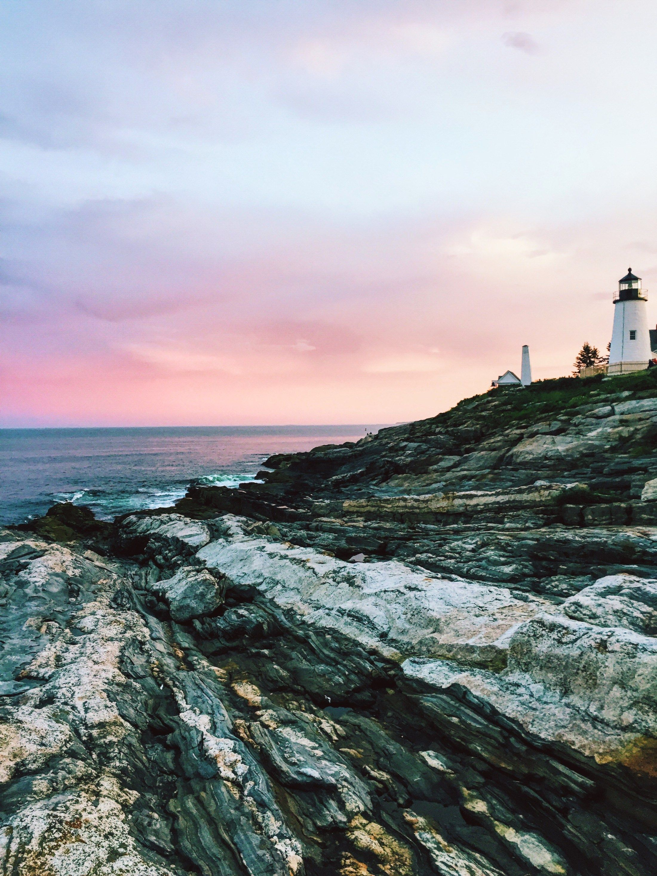 Phenomenal Traveling To The East Coast Lighthouses Maine Download Free Architecture Designs Rallybritishbridgeorg