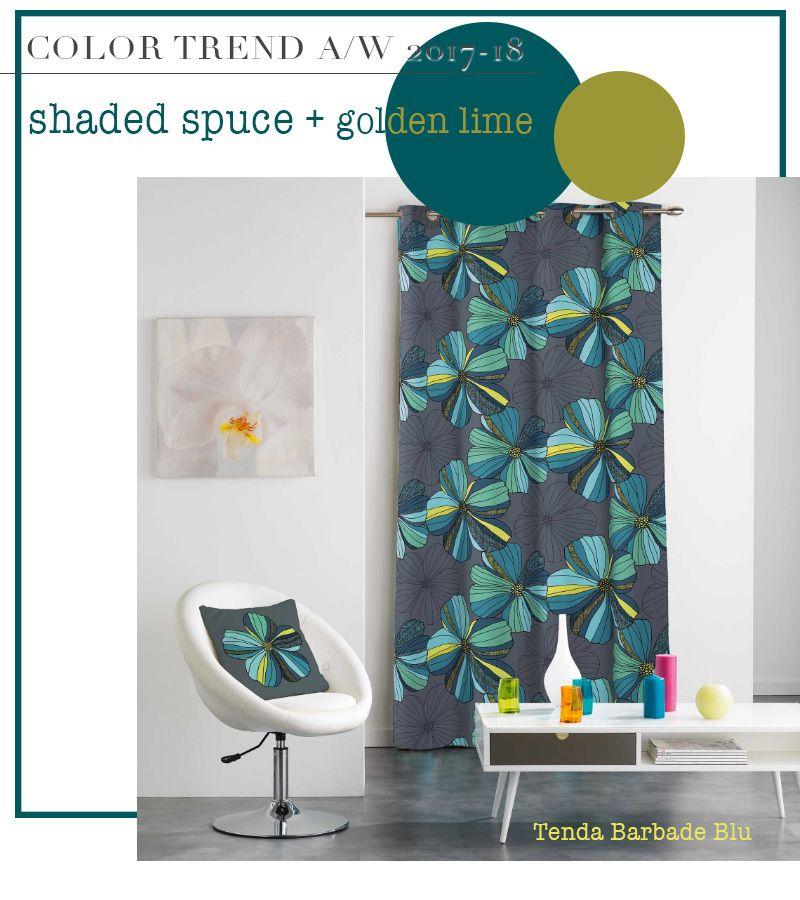 Rinnovare la casa con i tessuti nei colori di tendenza for Rinnovare la casa