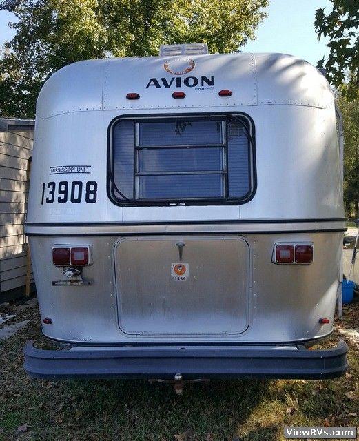1982 Avion 30p 30 Travel Trailer Travel Trailer Retro Caravan Travel