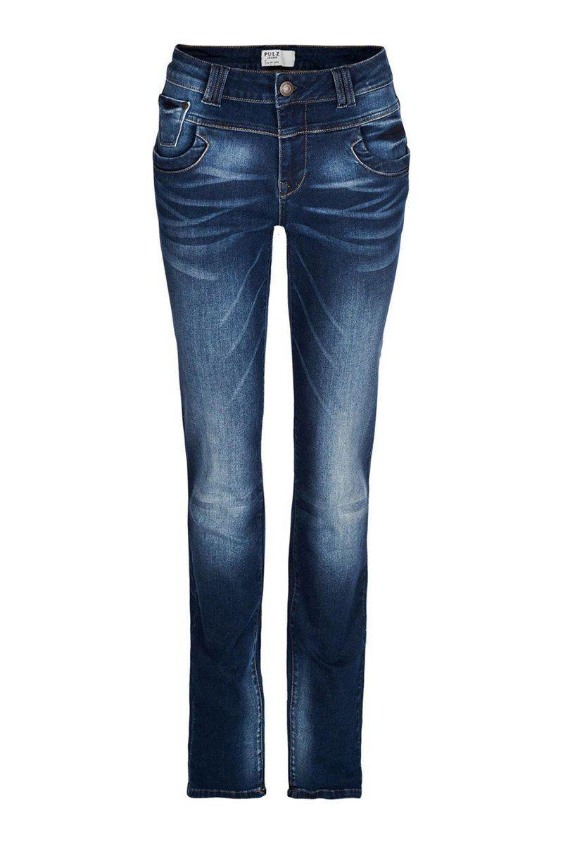 6d9166416ba Pulz Jeans Tenna High Waist Classic Straight Leg | Style over 50 ...