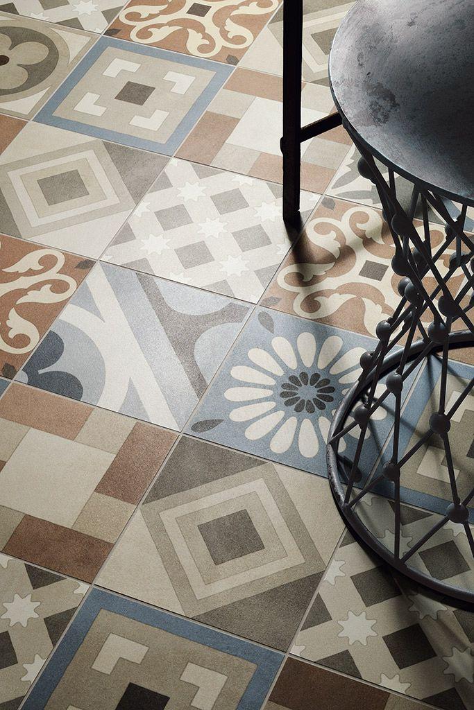 Cementine retr ceramiche fioranese piastrelle in gres porcellanato per pavimenti esterni e - Piastrelle per pavimenti interni ...