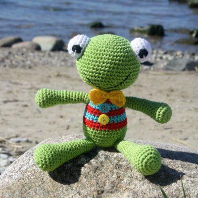 free pattern; Felix the frog; crochet; amigurumi | Amigurumi ...