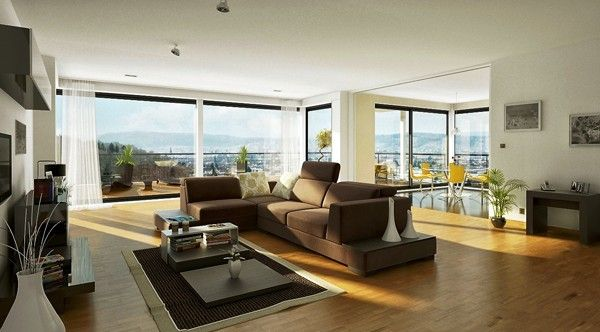 How To Decorate Large Living Room Windows Walmart Rugs For Floor Ceiling In Neutral Colors