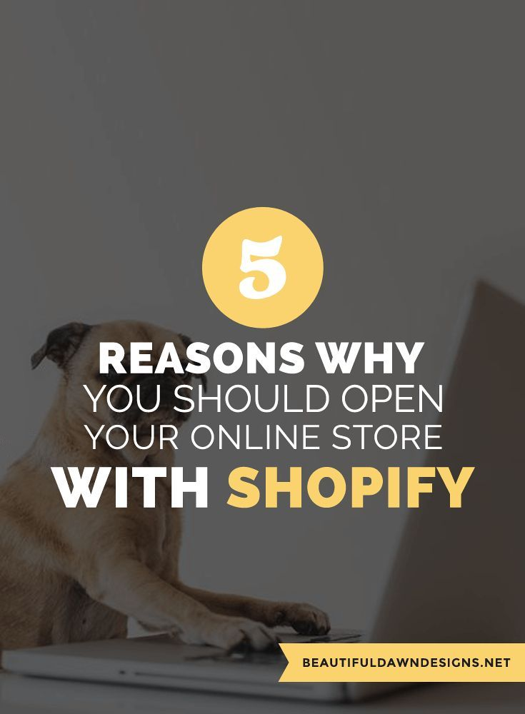 Shopify is a popular online platform. If you're