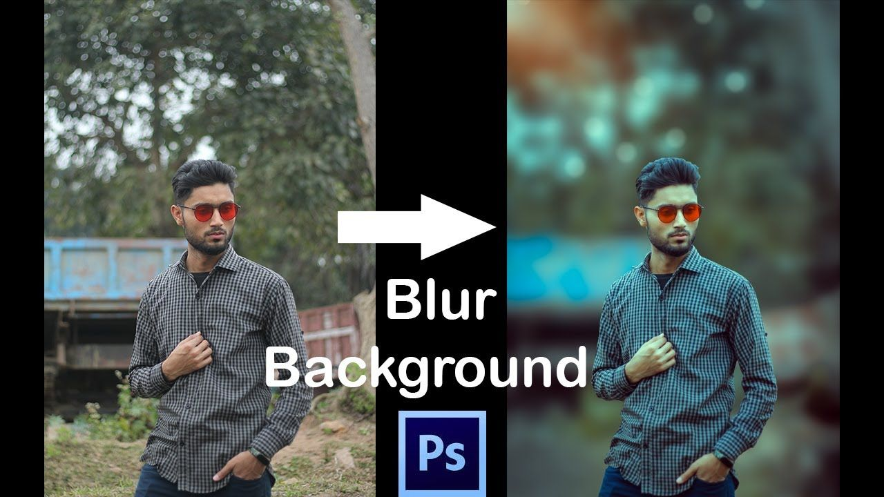 How to Blur Photo Background Easy Way to Blur Background ...