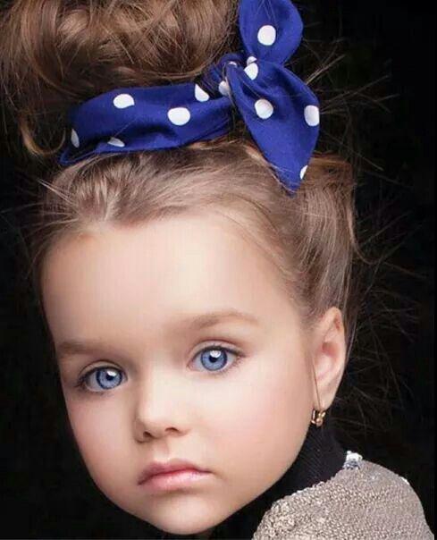 Omg Love Her Eyes So Beautiful Baby Girl Blue Eyes Beautiful